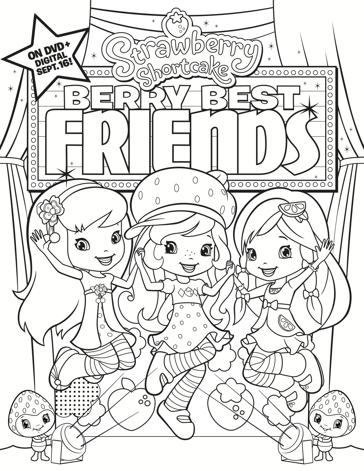Strawberry Shortcake: Berry Best Friends available on DVD