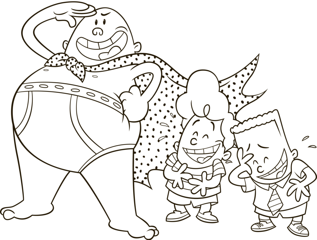 TRA-LA-LAAA!!! Captain Underpants will be available on Blu