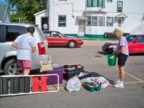 Shesler Hall Donations Photo