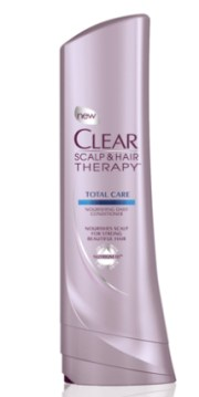 clear scalp hair beauty therapy