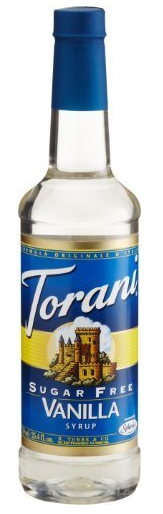 Torani Sugar Free Vanilla Syrup SheSpeaks