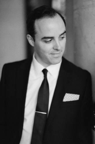 Jon in black and white
