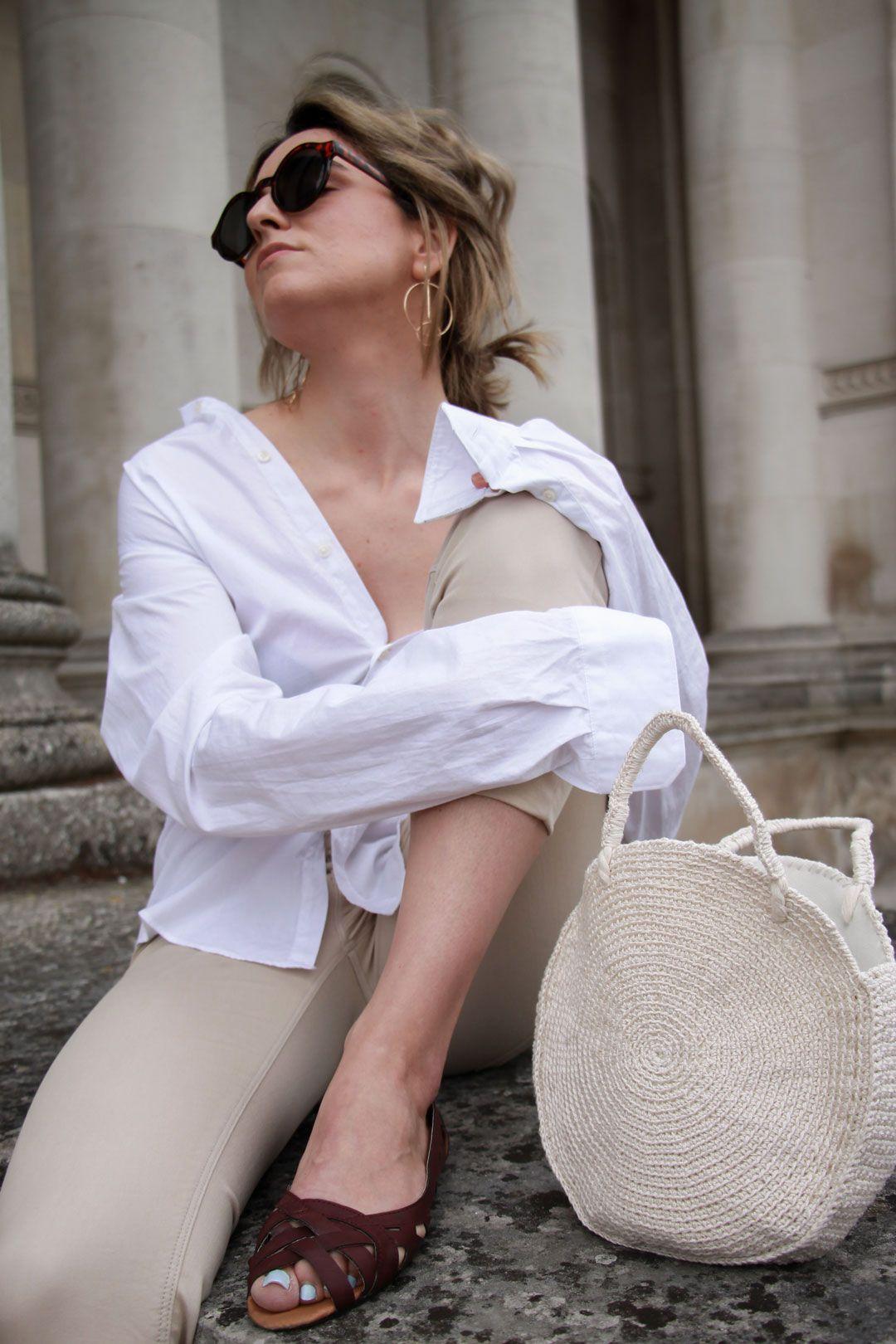 An ode to Fashion   Fashion at the Museum: The edit   #Minimalchic   #boyfriendshirt   #Fashioneditorial   Fitzwilliam Museum   #Retro   #whiteshirtandbelt   #Roundbag   #Roundcrochetbag   She talks Glam   Saida Antolin   UK blogger   #Summeroutfit   #OutfitInspiration   #Effortlesschic   #Parisianstyle   #Attitude   How to style a white shirt   Off the shoulder shirt   #structuredbag   #Simplelook   #minimalstreetstyle   Waist belt for a retro look