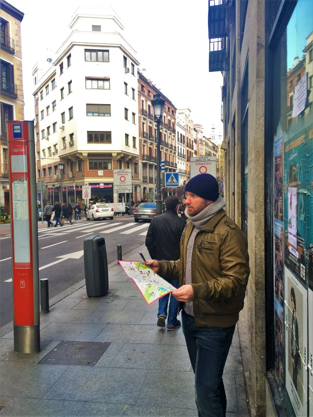 < Touristing in Madrid >
