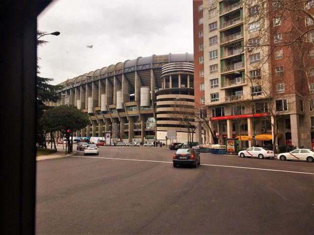 < Real Madrid Fútbol Stadium >