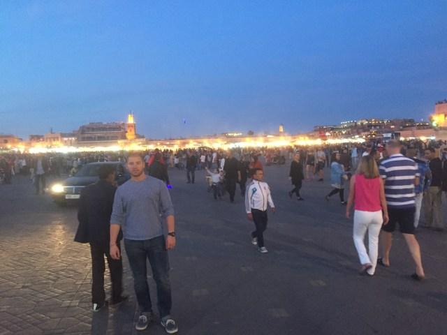 <Marrakech Medina, Marketplace>