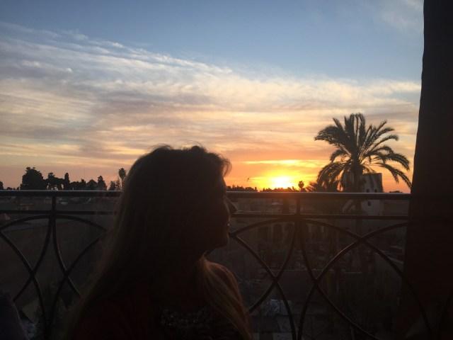 <Marrakech Sunset>