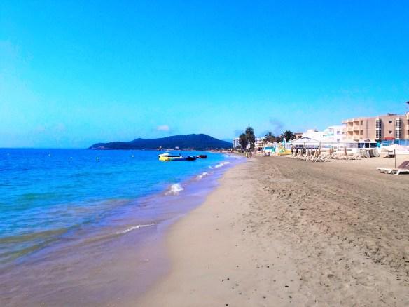 < Ibiza Beach >