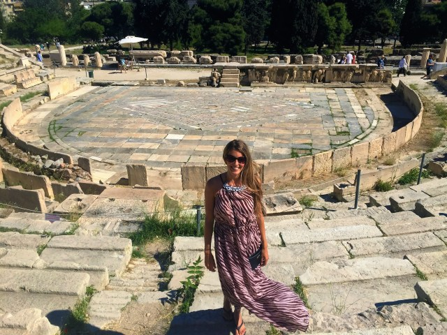 <Athens Theater of Dionysus>