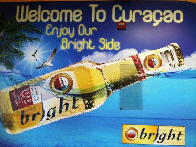 <Curacao Amstel Bright>