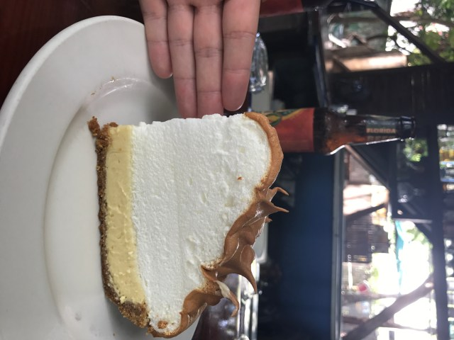 Incredible Key Lime Pie at Blue Heaven