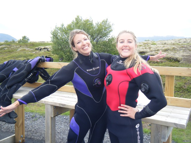 Dry suited up at Silfra