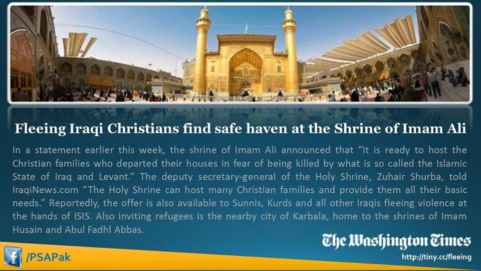 Imam-Ali-Shrine Christians