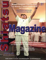 Shiatsu Magazine Marzo 2017