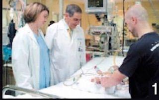 Shiatsu Voluntarios, supervisión médica cuidados intensivos