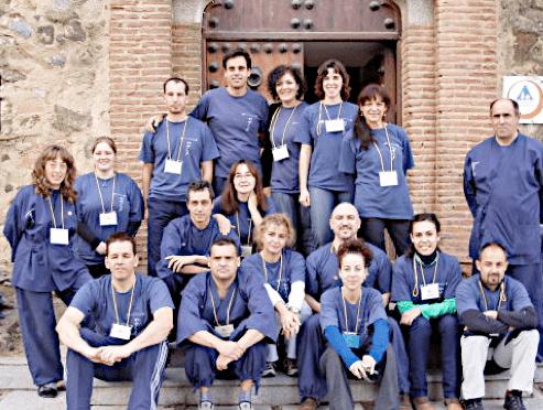Shiatsu Voluntarios, grupo de voluntarios