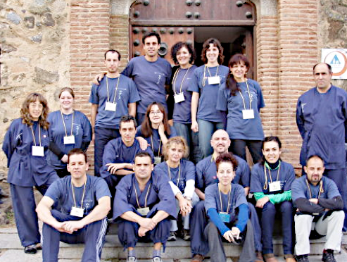 Shiatsu Voluntarios, grupo de voluntarios