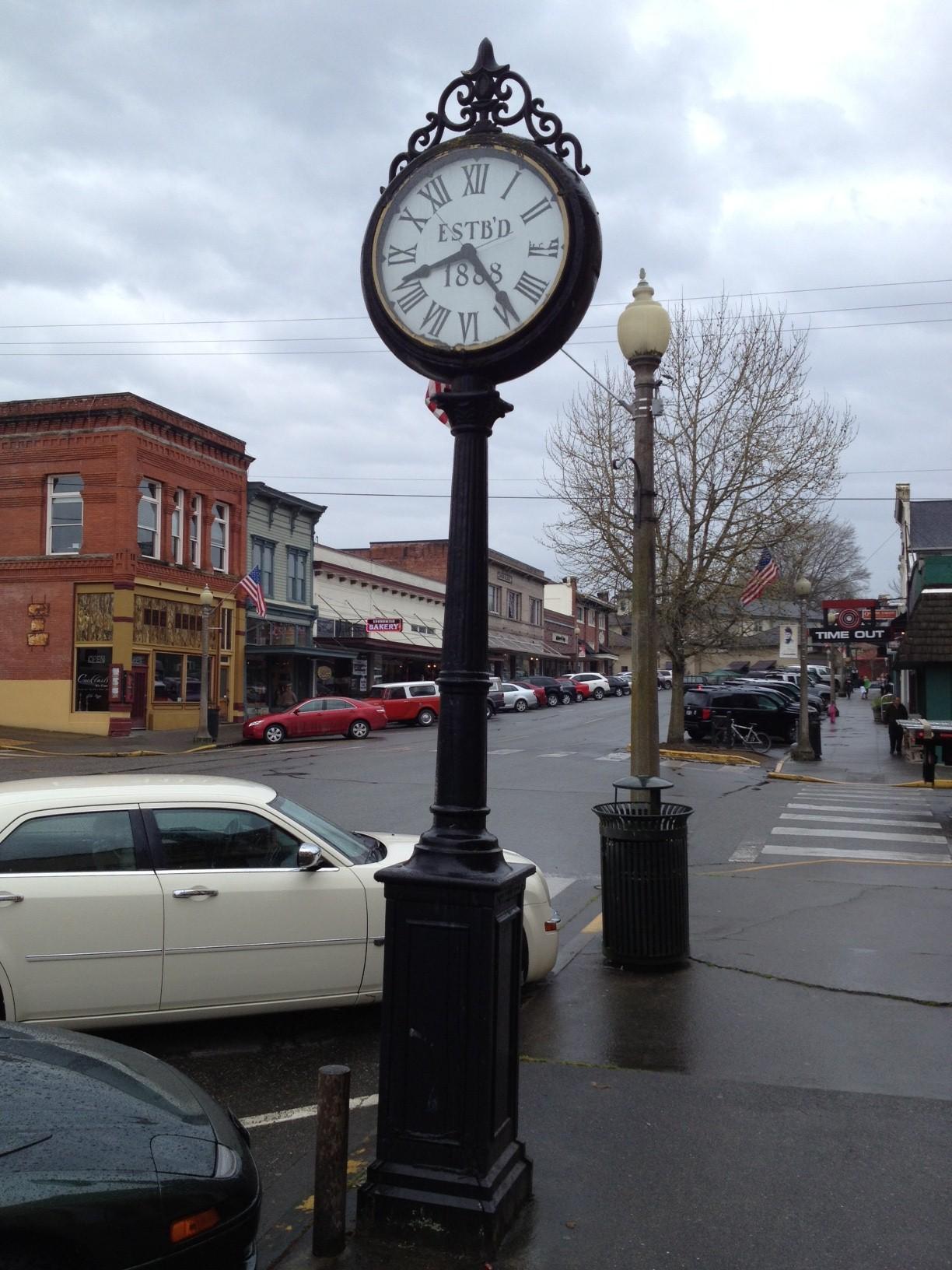 Image result for street clock