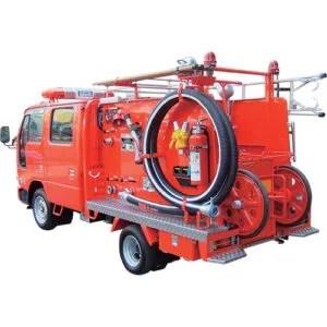 小型動力ポンプ付積載車