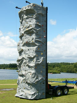 climbing wall at shielbaggan oec