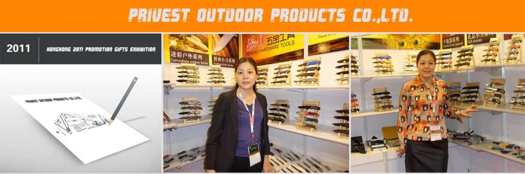 2011 Promotion Gifts Exhibition In Hongkong Privest outdoor knives pliers manufacturer