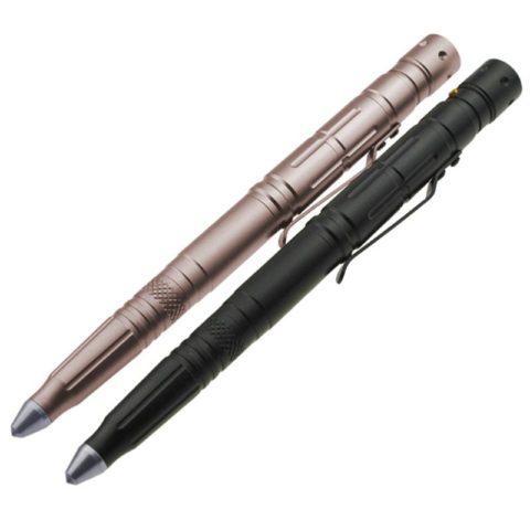 EDC Multi Functional Self-defense Aluminum Tactical Pen with Led Light (4)
