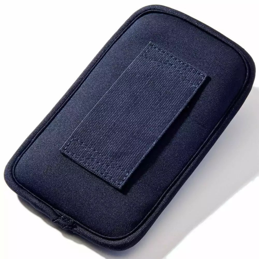 Rear of Extra Large Belt Hoop SYB Phone Pouch to Shield Cell Phone EMF Radiation