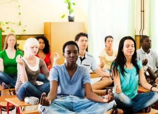 high school meditation