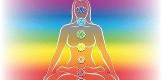 seven rainbow chakras