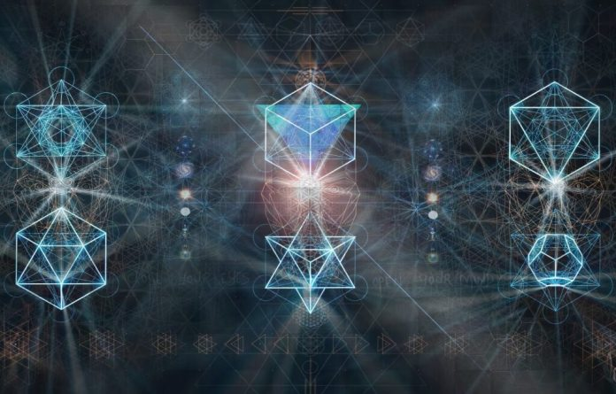 visionary art geometry alchemy
