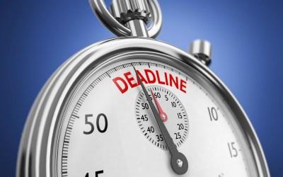 De twijfelachtige noodzaak van deadlines