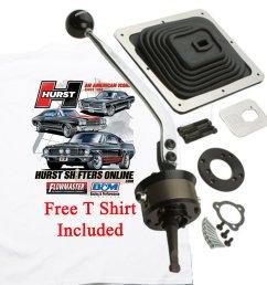 hurst 3915020 billet plus ford ranger manual shifter w free t shirt  [ 1200 x 1200 Pixel ]