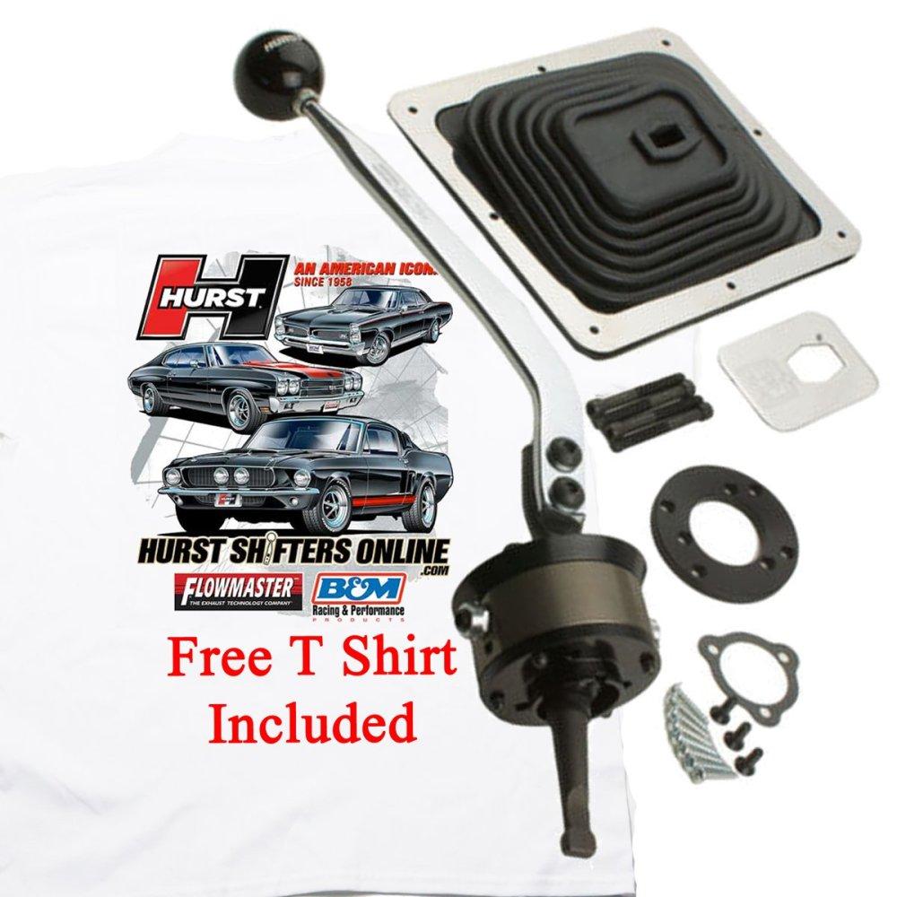 medium resolution of hurst 3915020 billet plus ford ranger manual shifter w free t shirt