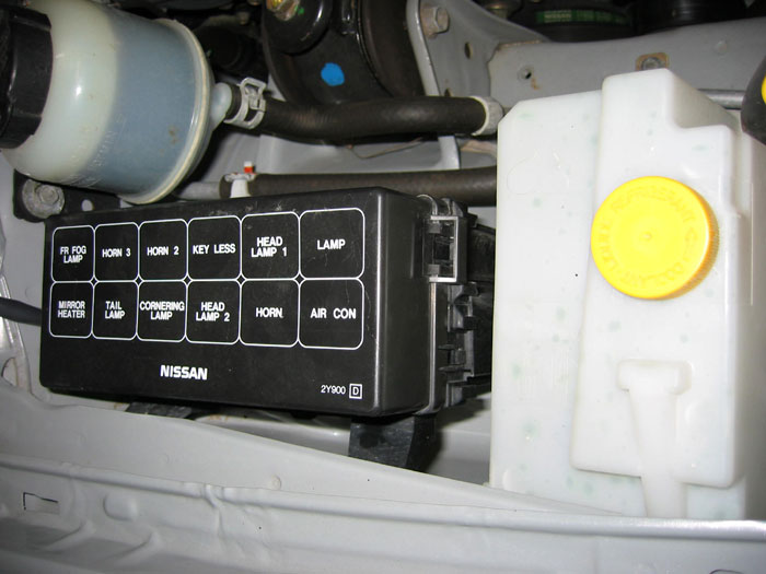 2003 Infiniti I35 Fuse Box Nissan Maxima How To S By Housecor How To Rewire Fogs