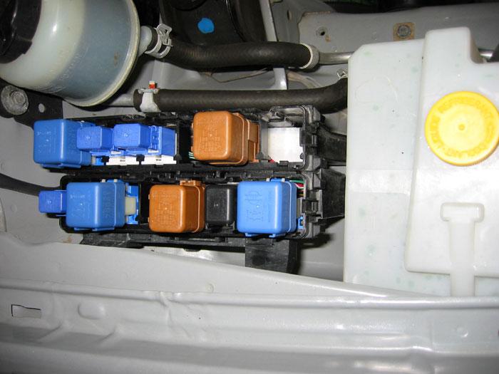 2004 Nissan Sentra Fuse Box