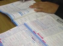 図14:期末勉強中!