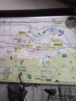 うきはの町の地図
