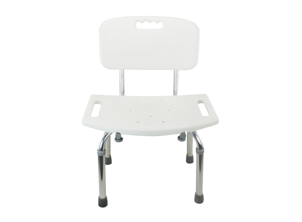 shower tub bench chair wicker wingback cushions tool free legs adjustable bathroom with backrest chrome type shih kuo enterprise co ltd