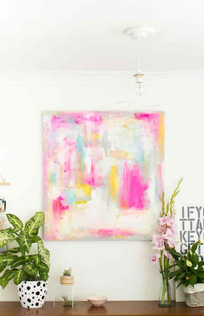 Abstract Painting DIY