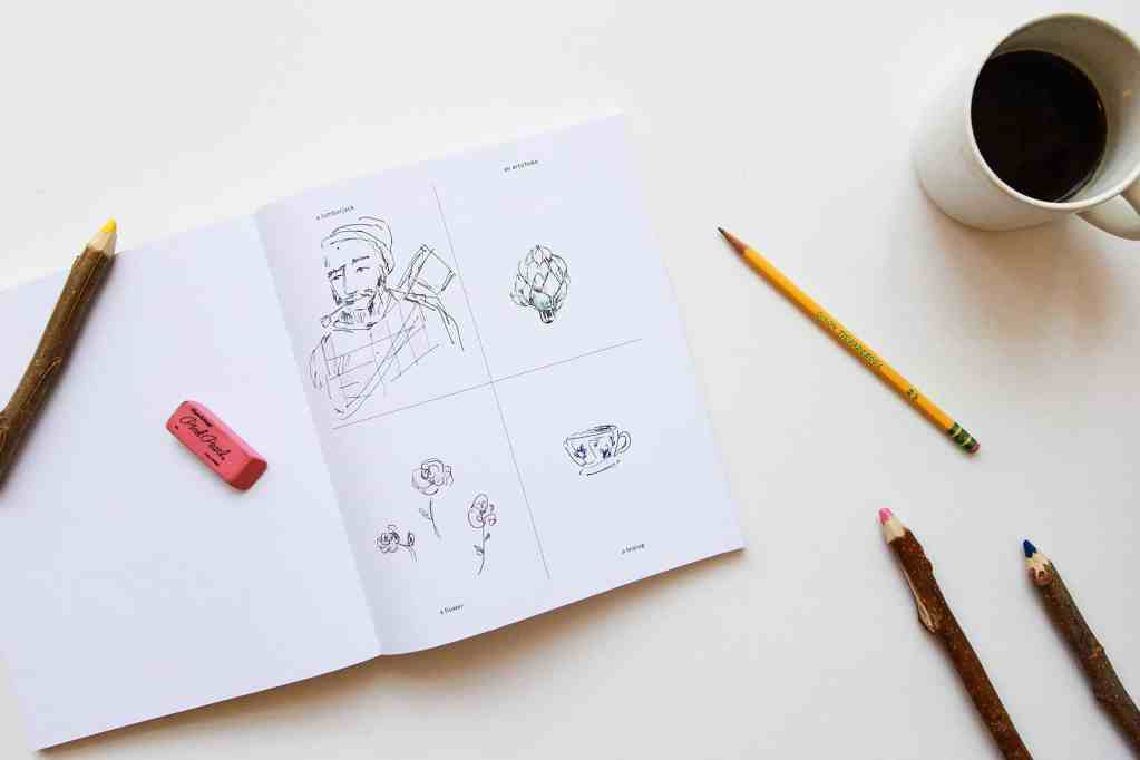 Things to Draw Book