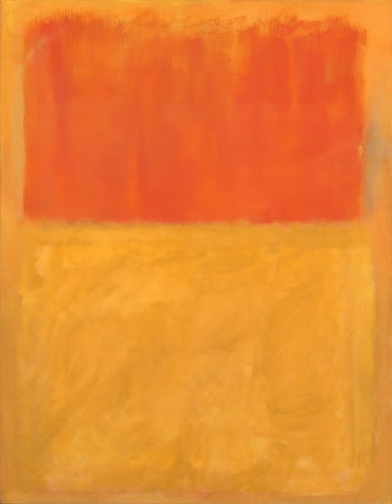 Mark Rothko painting