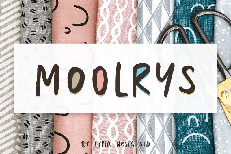 Free Handwriting Font Capital - Moolrys