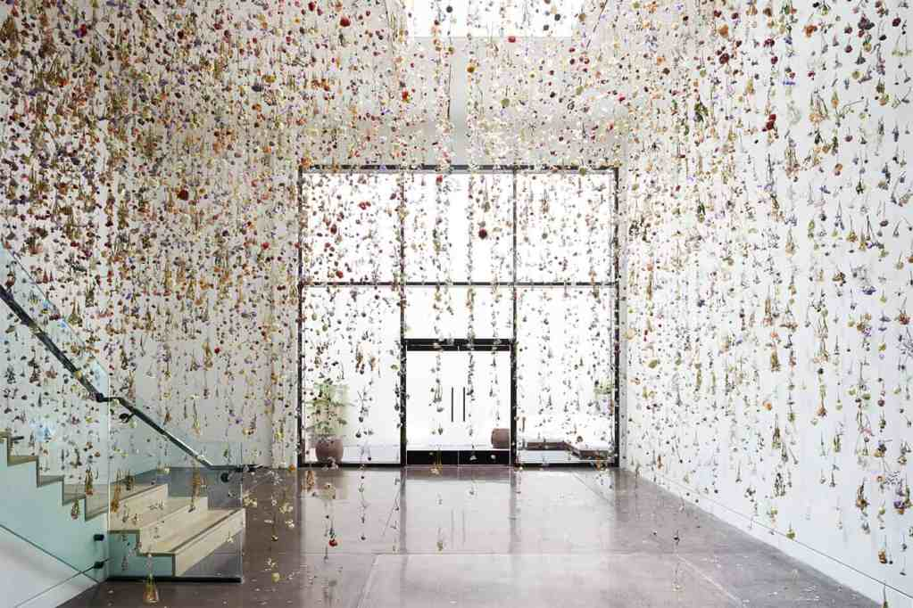 Floral Installation Art by Rebecca Louise Law