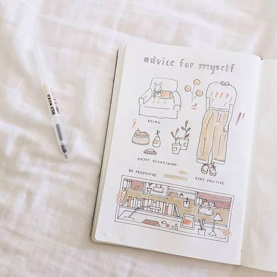 Self Care Bullet Journal Ideas
