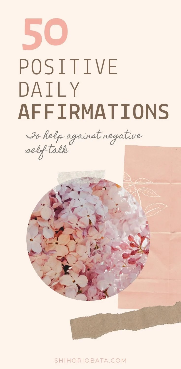 50 positive daily affirmations list