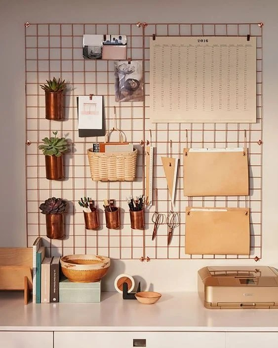 Office or Craft Room Organization
