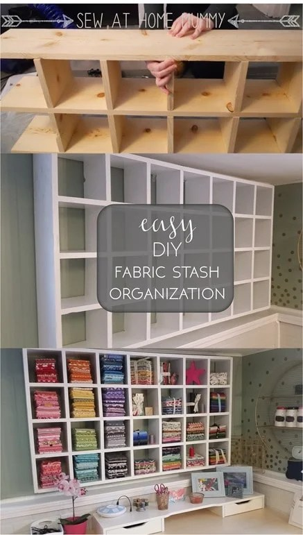 DIY Wall Organizer Storage
