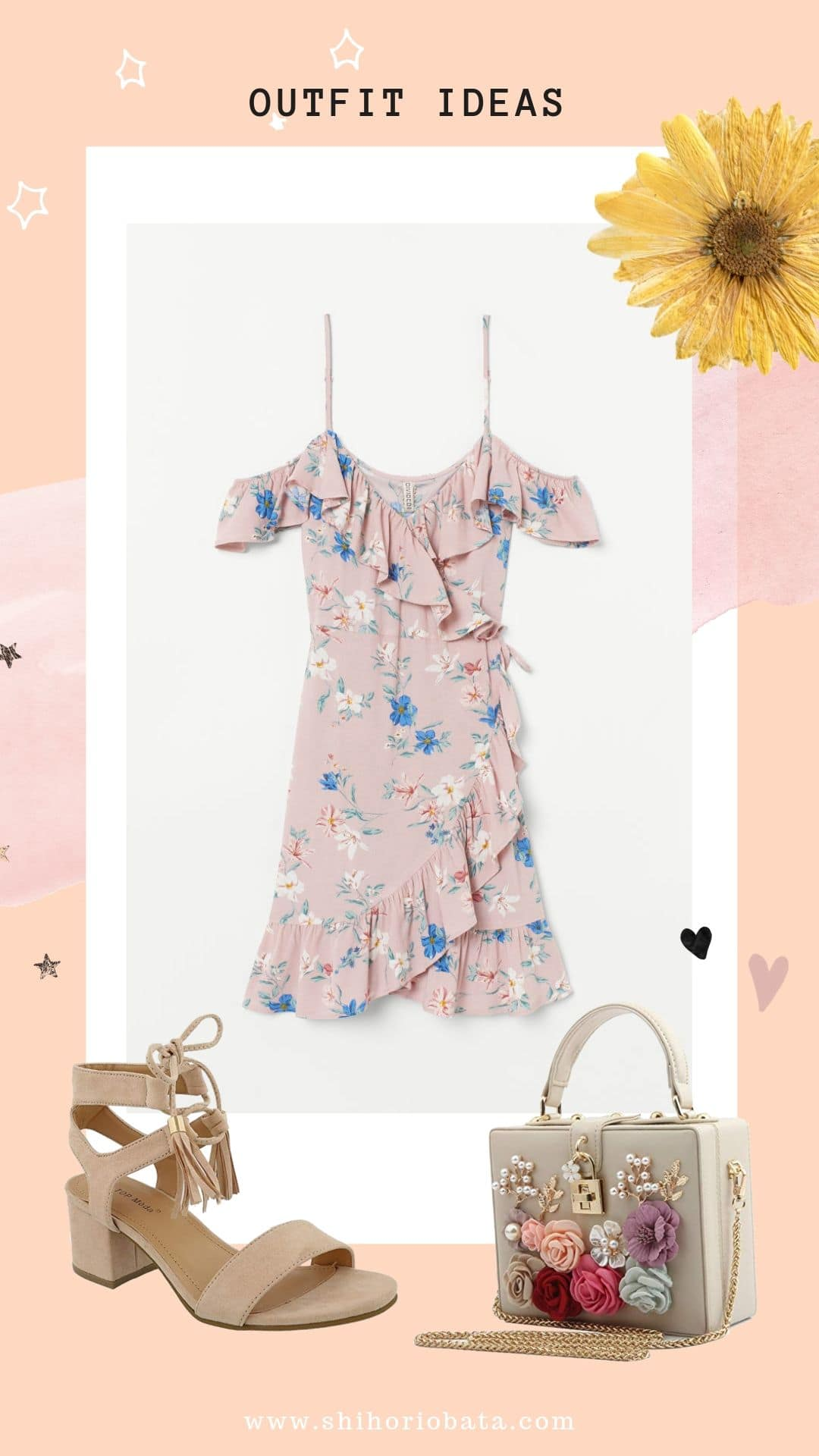 Outfit Ideas - Pink Dress