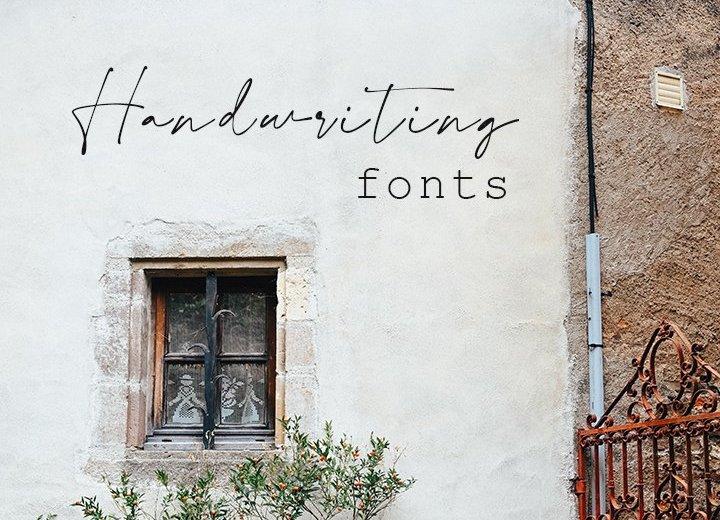 Free Handwriting Fonts