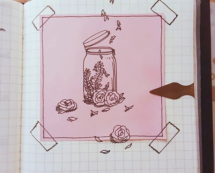 ways to fill a notebook